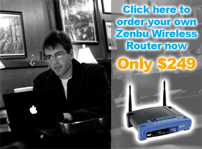 Order your Zenbu wireless router securely online